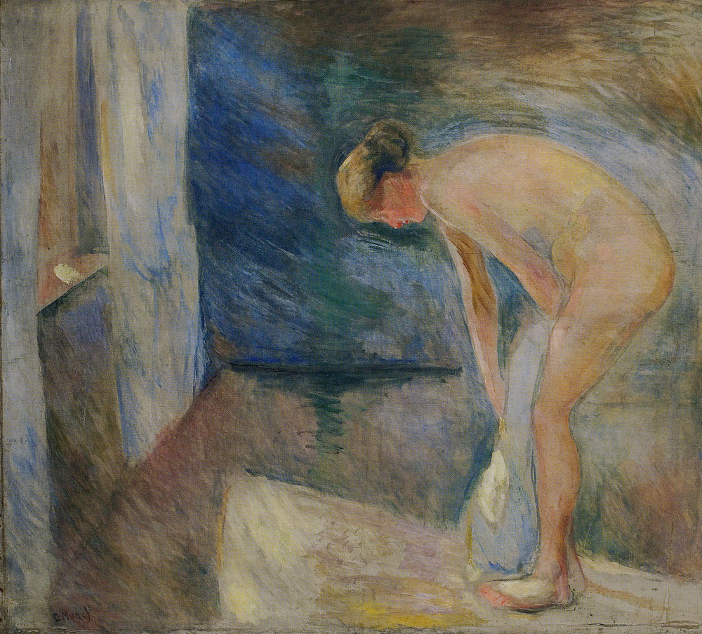 Edvard Munch - After the Bath