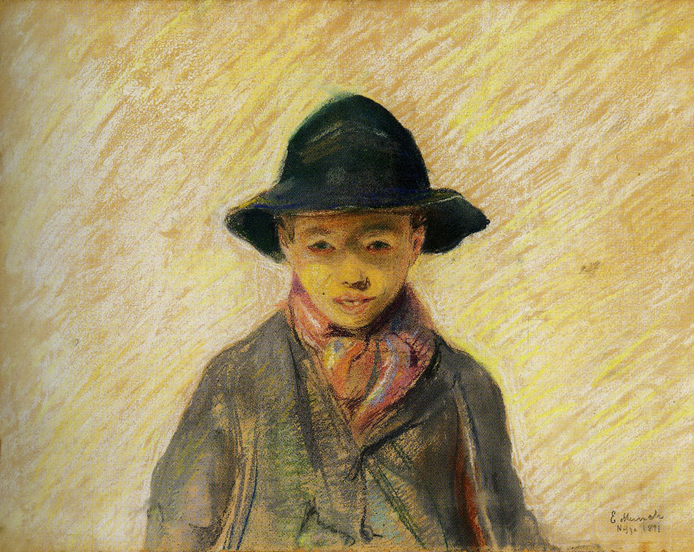 Edvard Munch - Fisherboy from Nice