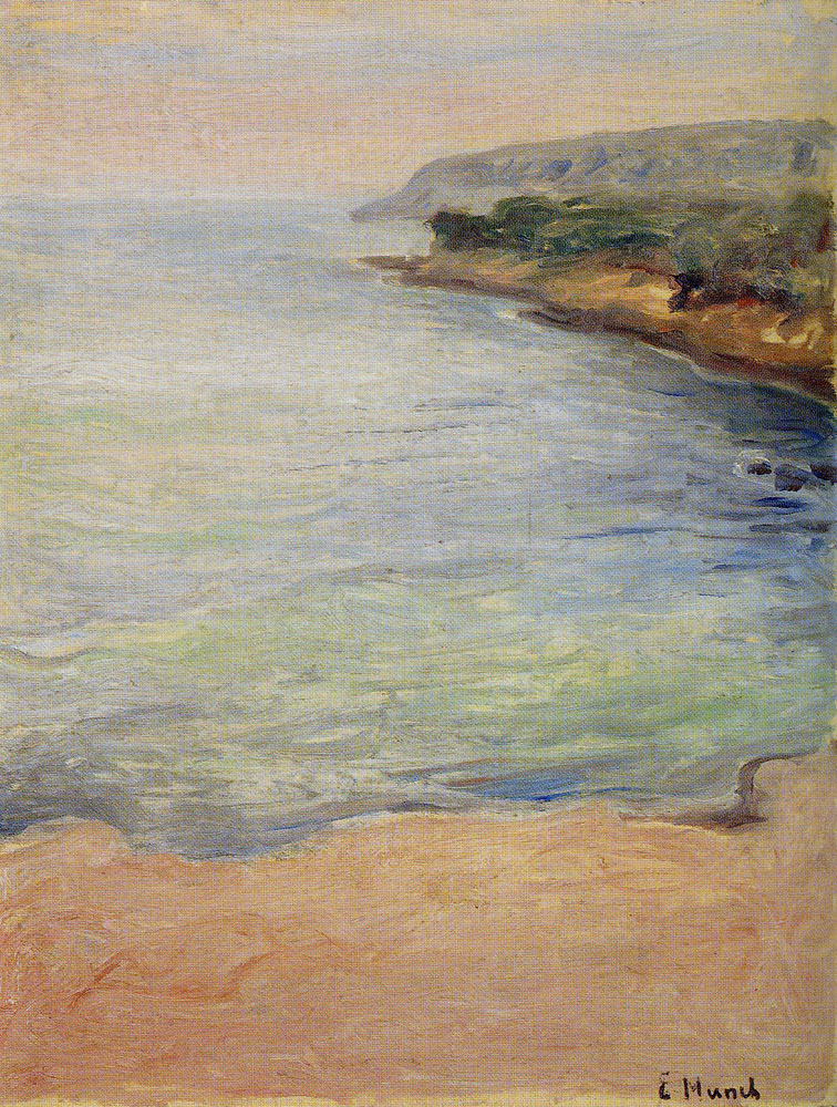 Edvard Munch - From the Riviera