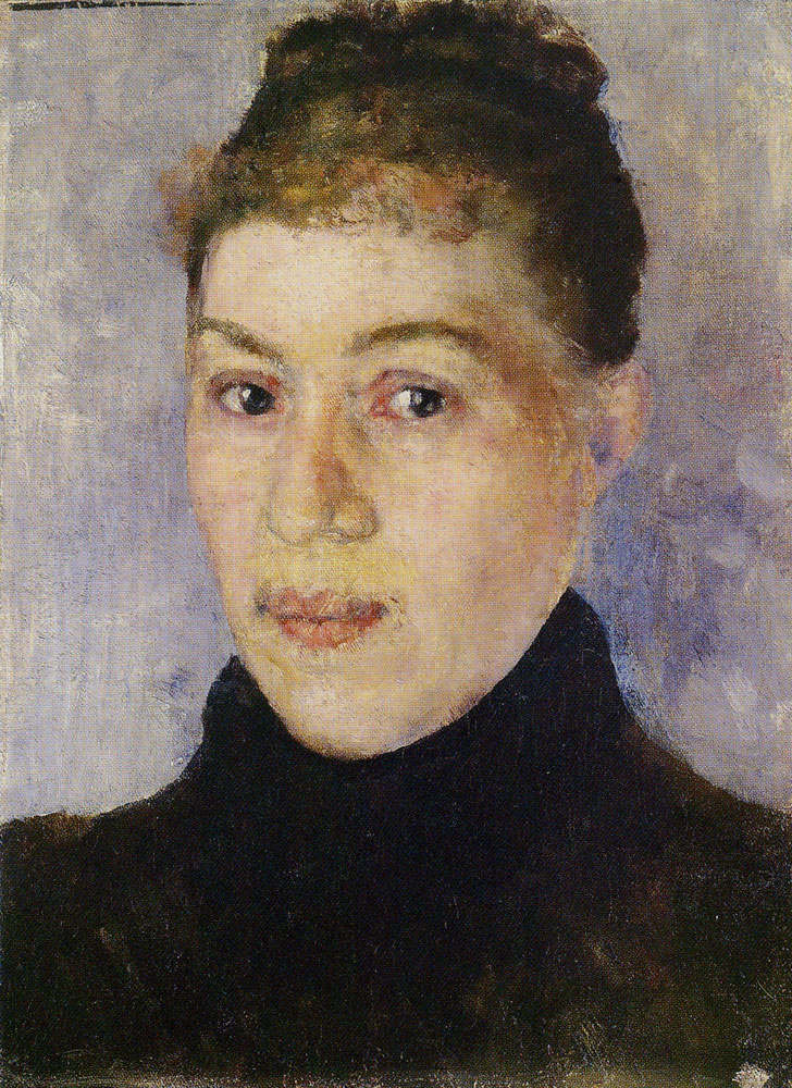 Edvard Munch - Portrait of a Woman