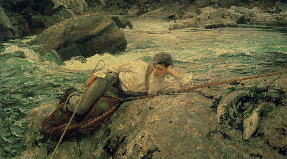 John Singer Sargent - On his Holidays, Norway