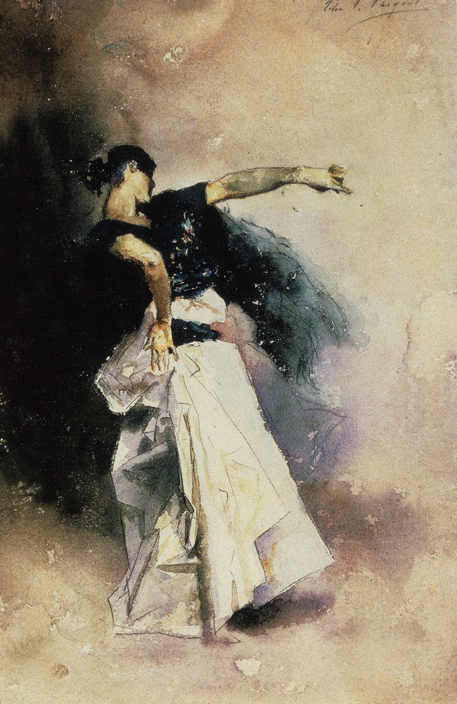 John Singer Sargent - Study for 'Spanish Dancer'