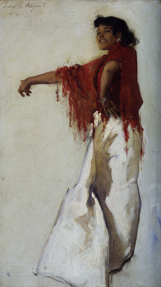 John Singer Sargent - Spanish Gypsy Dancer