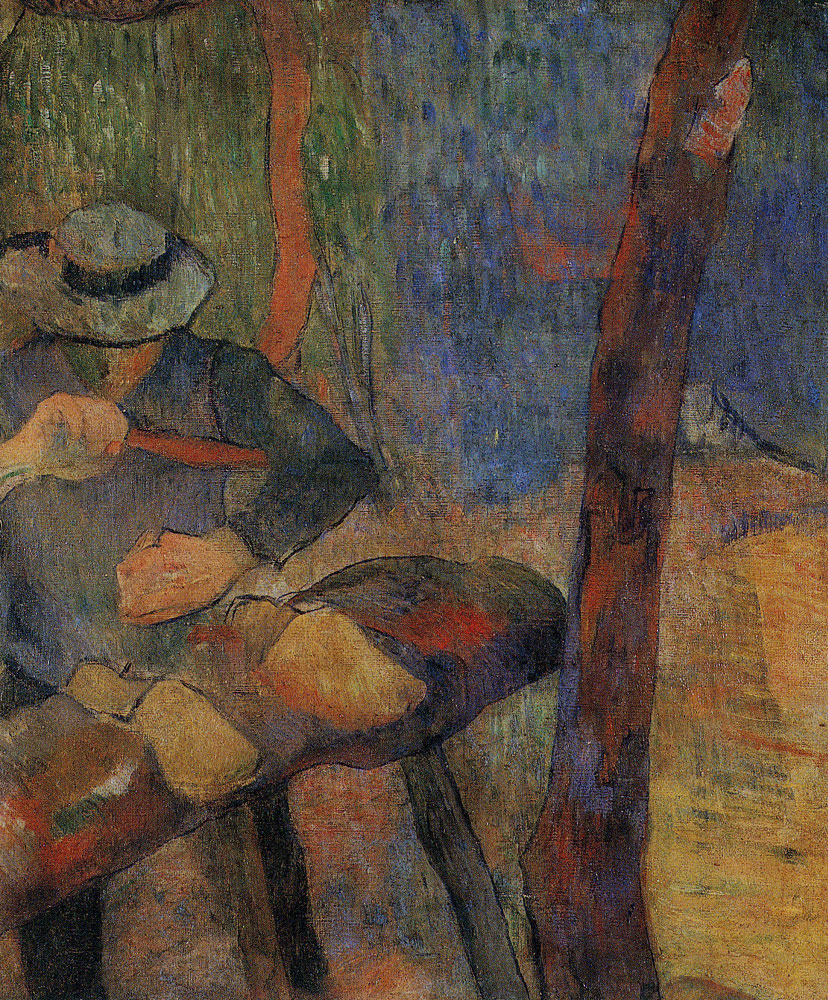 Paul Gauguin - Clog-Maker