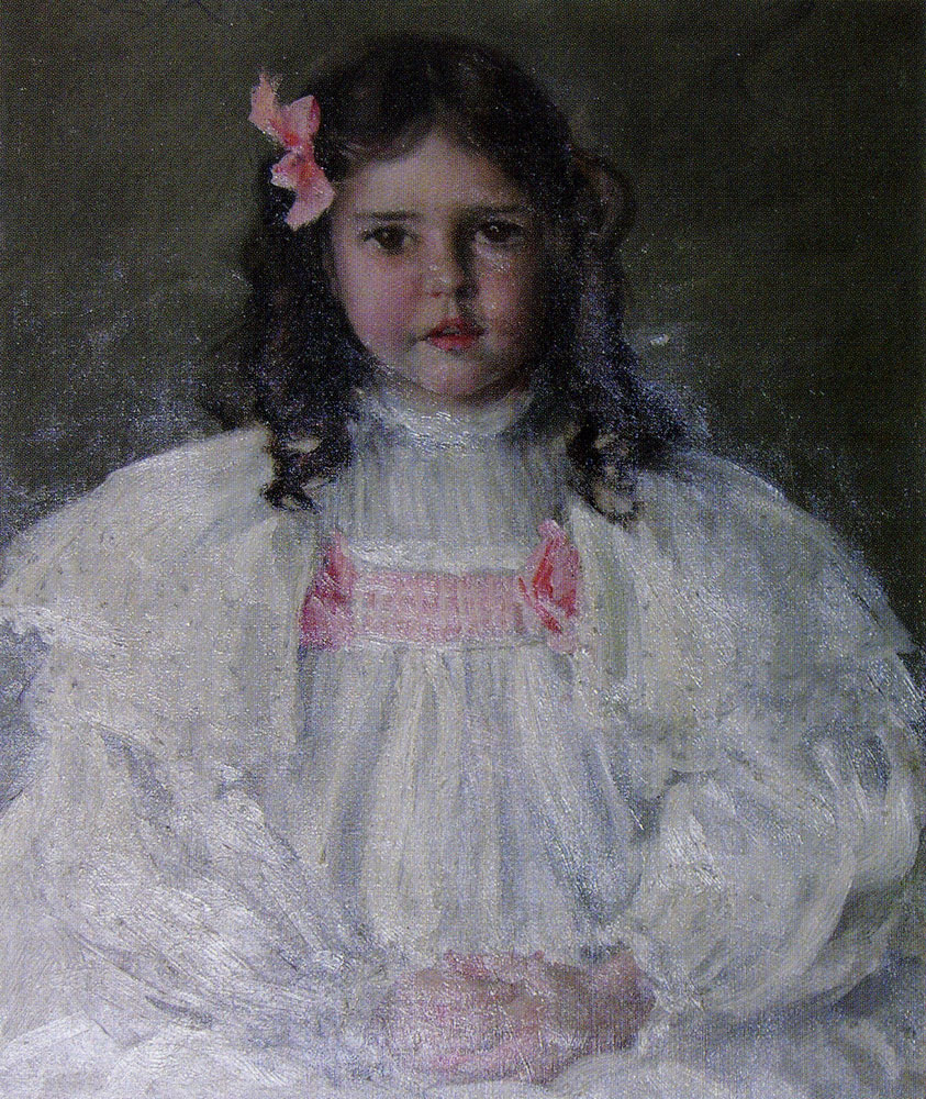 William Merritt Chase - Portrait of Caroline Allport