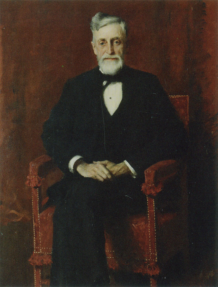 William Merritt Chase - Portrait of John Butler Talcott