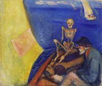 Edvard Munch Death at the Helm