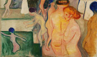 Edvard Munch Women in a Swimming Pool