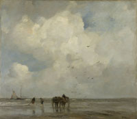 Jacob Maris - Gathering Sea Shells