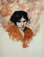 John Singer Sargent Head of a Venetian Model