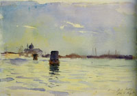 John Singer Sargent On the Lagoons, Venice