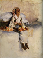 John Singer Sargent The Little Fruit Seller