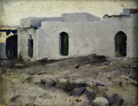 John Singer Sargent Moorish Buildings on a Cloudy Day