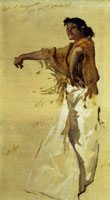 John Singer Sargent Spanish Gypsy Dancer