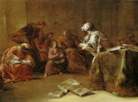 Leonaert Bramer Jesus among the Doctors