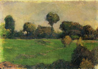 Paul Gauguin Farm in Brittany I