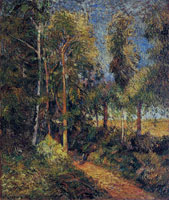 Paul Gauguin Lane in the Beech Stand