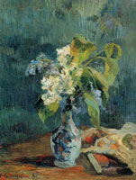 Paul Gauguin Lilac Bouquet