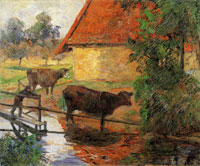 Paul Gauguin Watering Place I