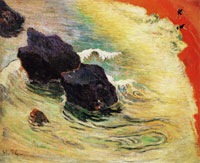 Paul Gauguin Wave