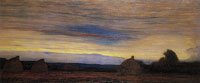 Piet Mondriaan Evening: Haystacks in a Field