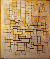 Piet Mondrian Tableau No. 1 / Composition No. 1