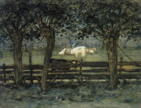 Piet Mondriaan The White Bull Calf