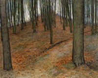 Piet Mondriaan Wood with Beech Trees