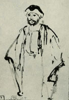 Attributed to Willem Drost Oriental in Turban and Wide Coat