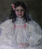 William Merritt Chase Portrait of Caroline Allport