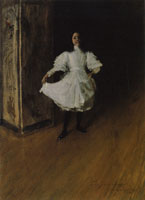 William Merritt Chase Portrait of the Artist's Daughter (Dorothy)
