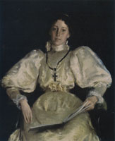 William Merritt Chase The Golden Lady