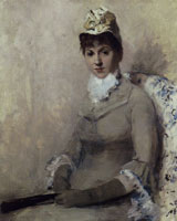 William Merritt Chase Portrait of the Actress Linda Dietz Carlton