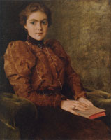 William Merritt Chase Miss F. De Forest (A Lady in Brown)