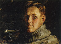 William Merritt Chase Portrait of Myron A. Oliver