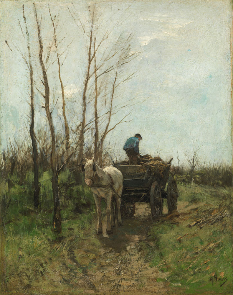 Anton Mauve - Gathering Wood