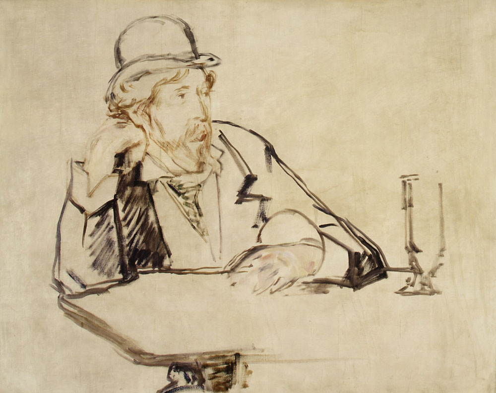 Edouard Manet - George Moore at the Café