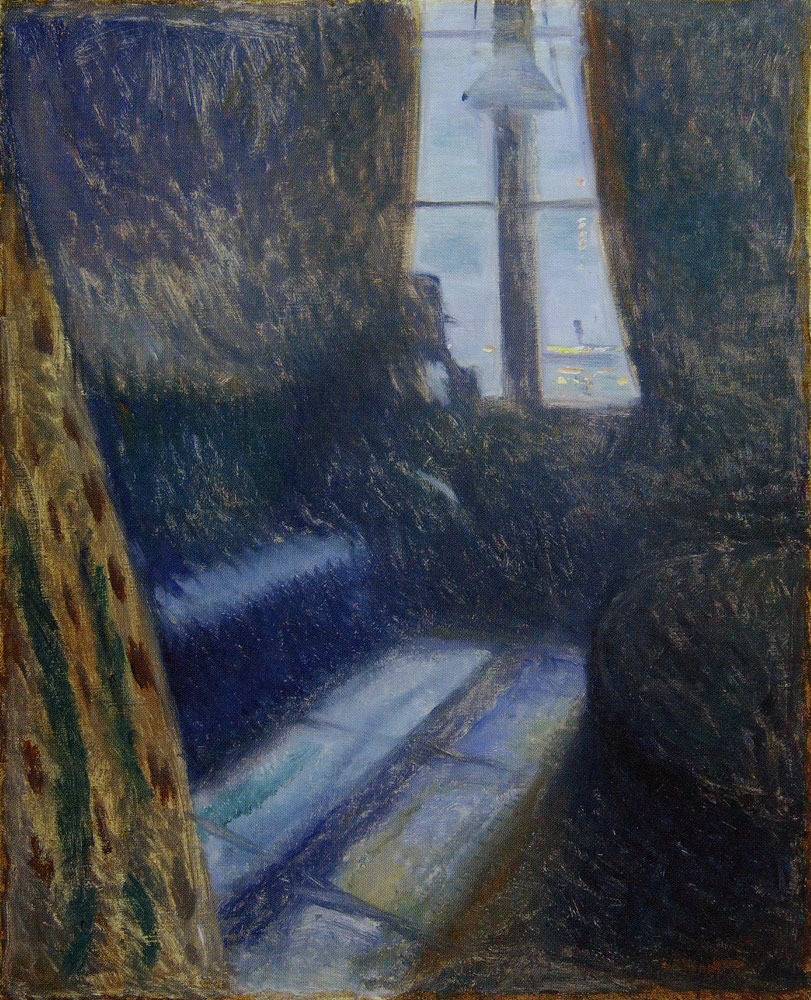 Edvard Munch - Night in Saint-Cloud