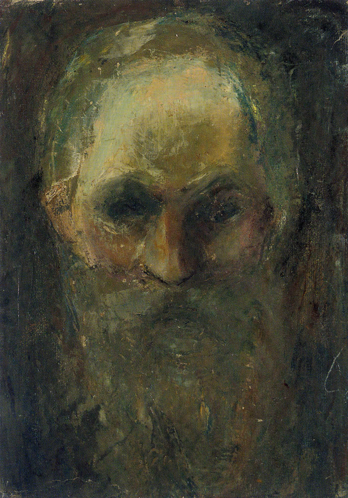 Edvard Munch - Study of an Old Man's Head