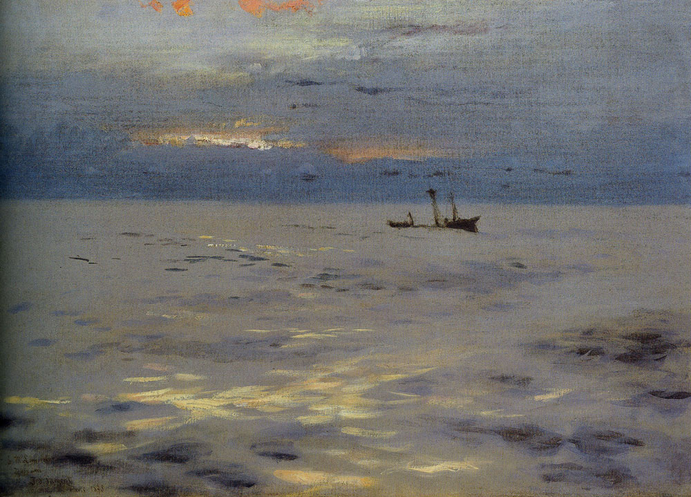 John Singer Sargent - Atlantic Sunset
