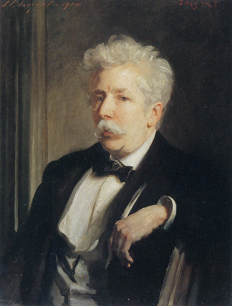 John Singer Sargent - Henry W. Lucy