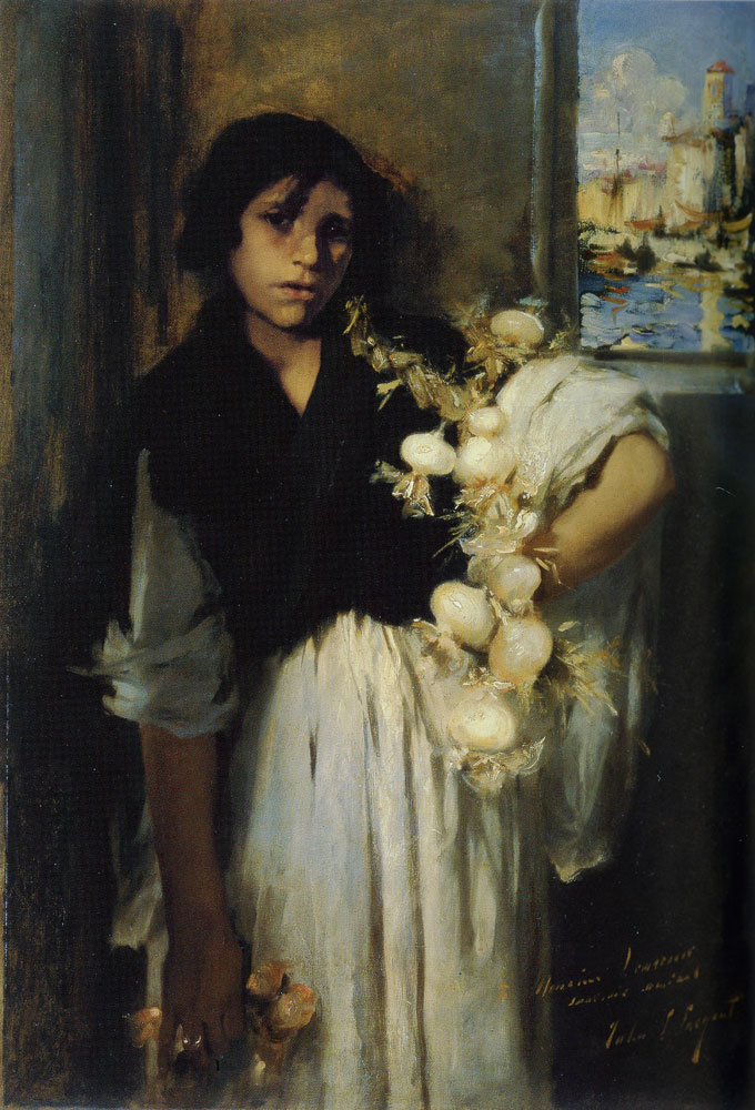 John Singer Sargent - The Onion Seller