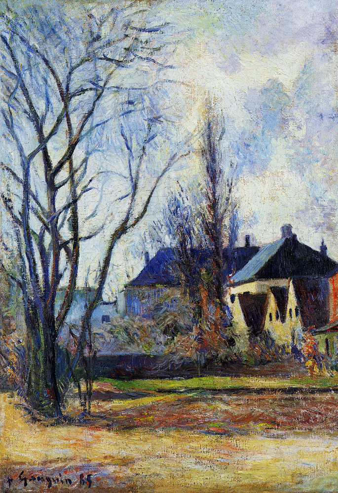Paul Gauguin - Winter's End, Copenhagen