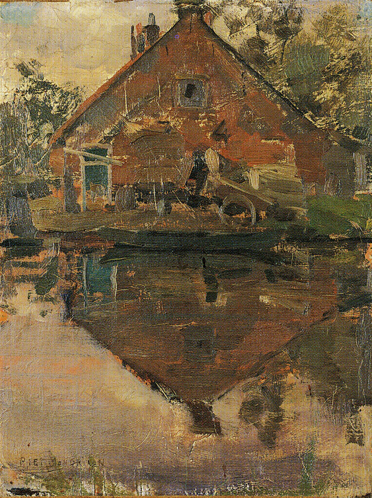 Piet Mondriaan - House on the Gein