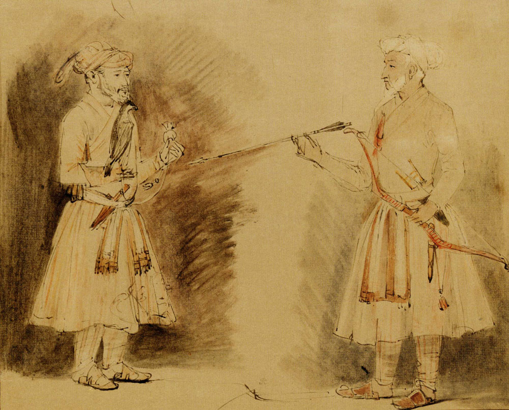 Rembrandt - Two Indian Noblemen