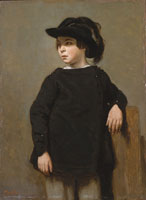 Jean-Baptiste-Camille Corot Portrait of a Child