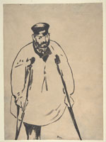 Edouard Manet A Man on Crutches