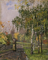 Edvard Munch Autumn in Vestre Aker
