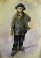 Edvard Munch Fisherboy from Nice