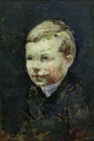 Edvard Munch Head of a Boy